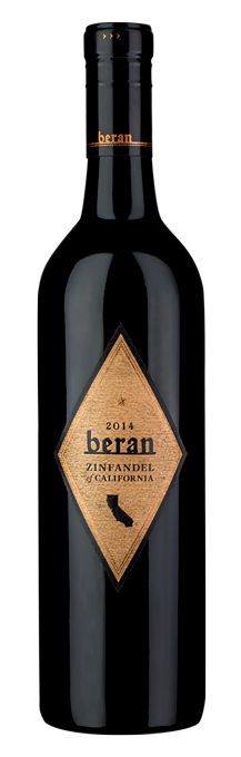 2014 Beran California Zinfandel bottle shot