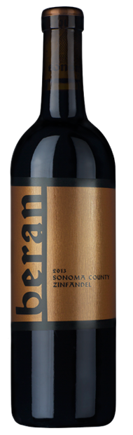 Beran Sonoma County zinfandel bottle shot